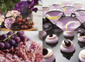 color themed party by bizu catering studio