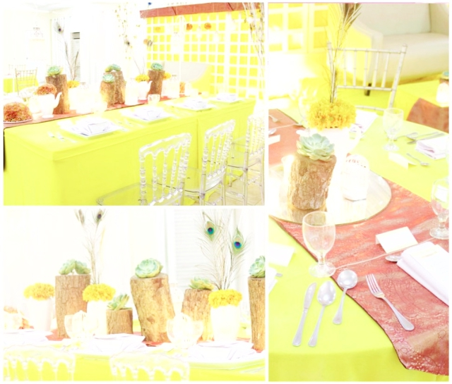 sunny day theme hizons catering