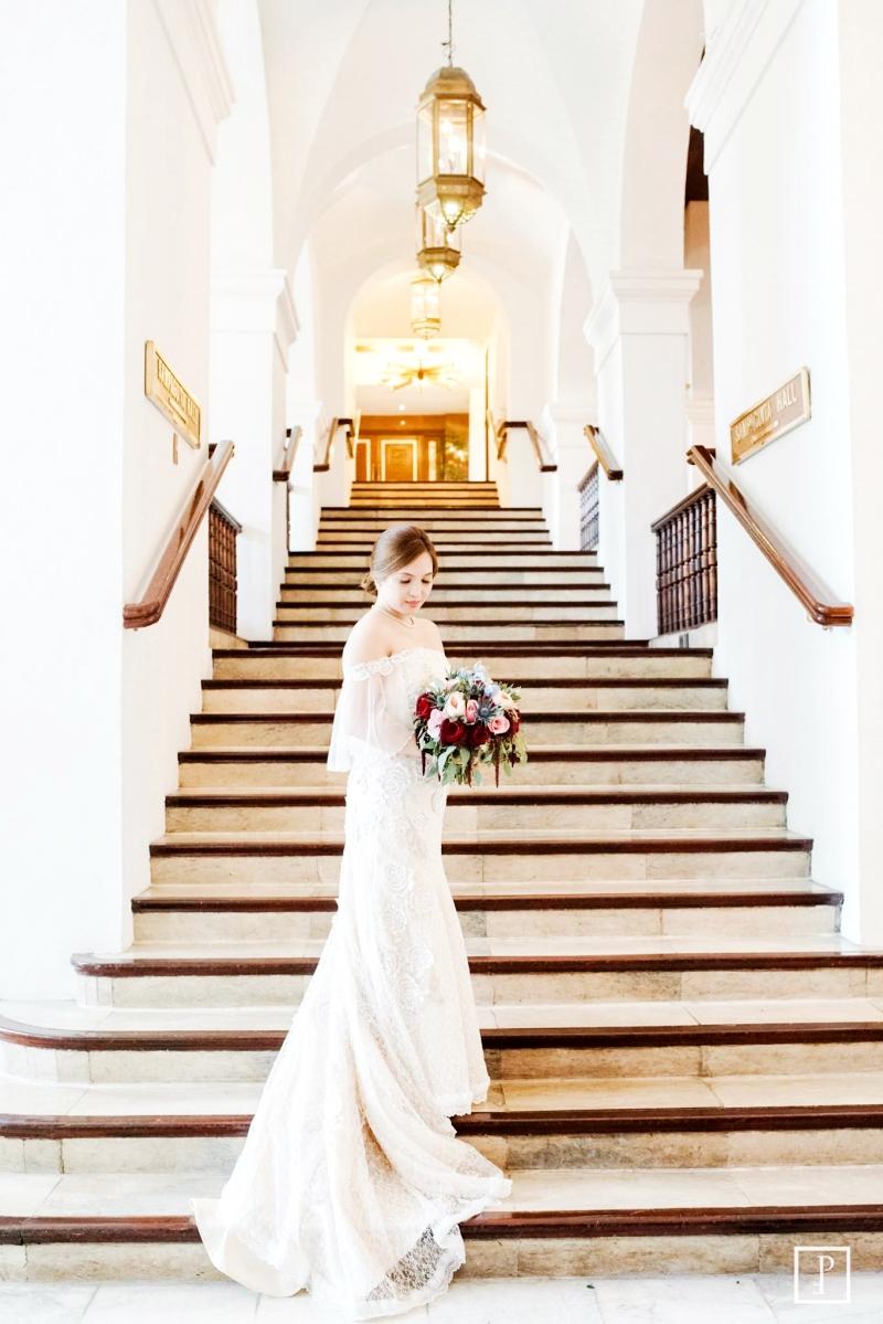 Modern Filipiniana Wedding Gown