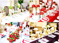 simple elegant hizons catering themes