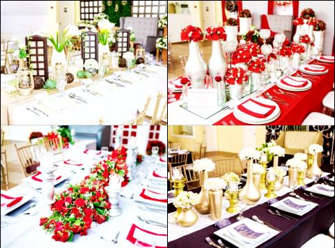 simple elegant hizons catering themes