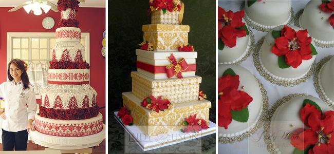 christmas cakes judy uson the cake artist