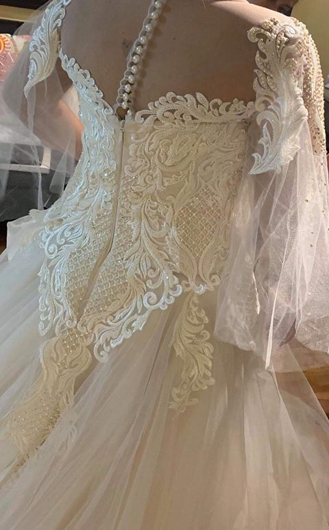 Stylish Wedding Dress from GenSan-based designer, Ador Feliciano (one of Jinkee Pacquiao's designers)